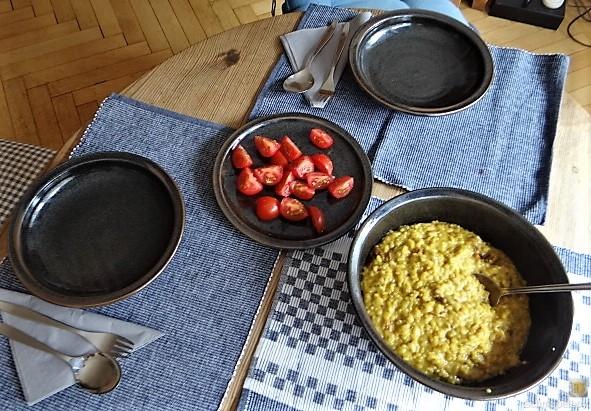 Safran-Tomaten Risotto (9)