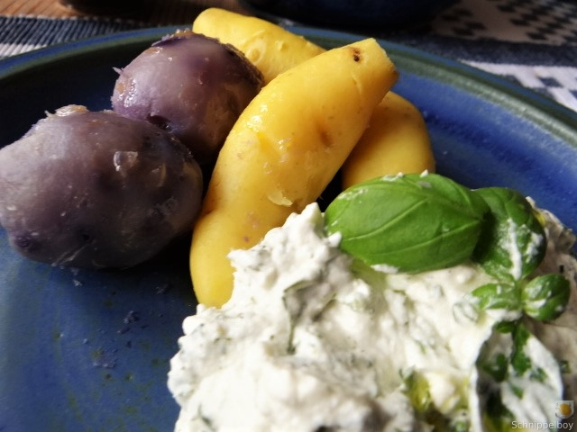 Handgemachter Quark mit Kartoffeln (15)