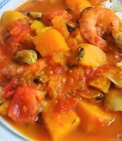 Kürbis-Meeresfrüchte Ragout (31)