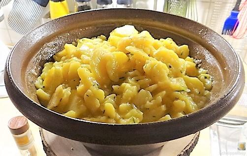 Kartoffelsalat mit frisch geräucherter Forelle (4)