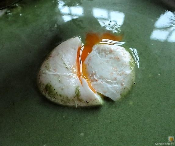 Spinatsuppe mit pochierten Eiern (22)