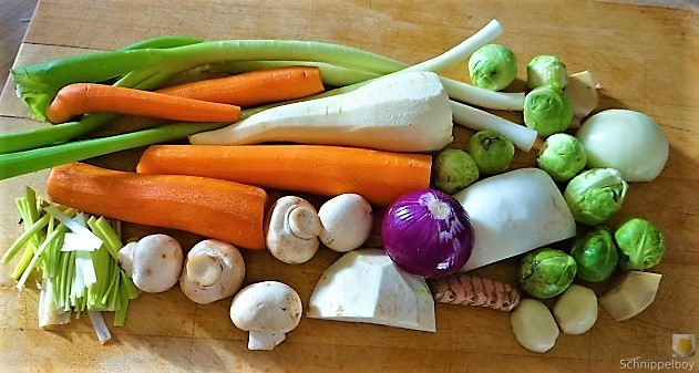 Wokgemüse mit Glasnudeln (8)