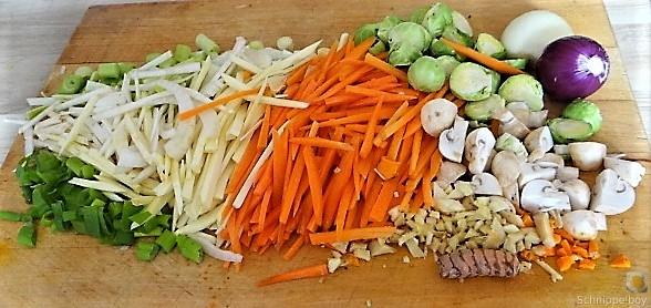 Wokgemüse mit Glasnudeln (9)