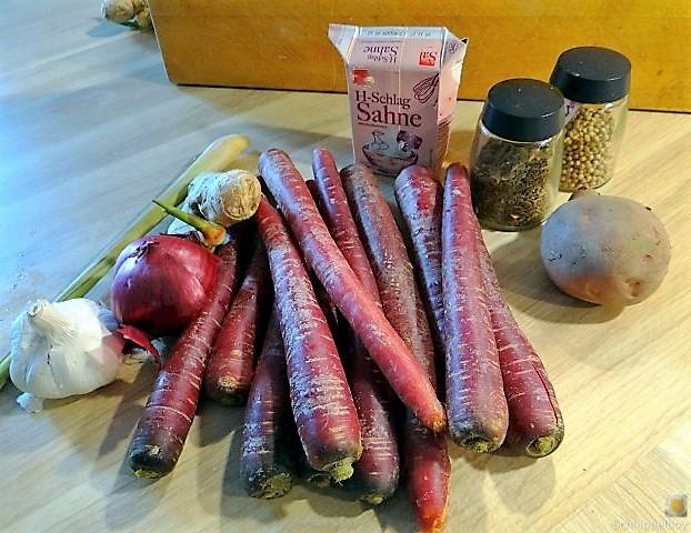Schwarze Karottensuppe, revival. (5)