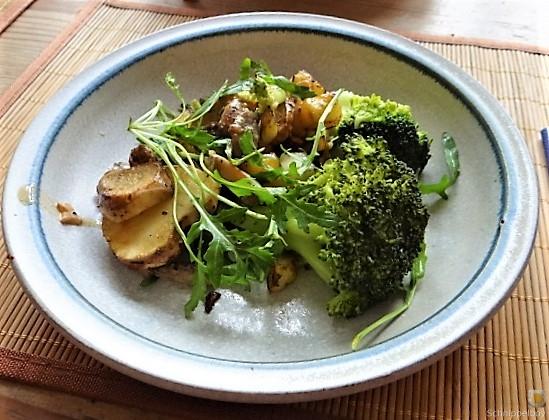 Topinambur,Champignon, Kartoffeln,roh gebraten (2)