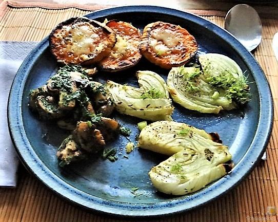 Fenchel,Süßkartoffeln und Champignon (1)