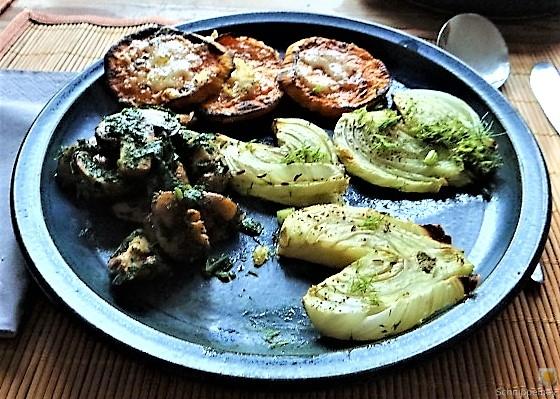 Fenchel,Süßkartoffeln und Champignon (29)