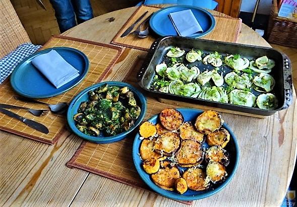 Fenchel,Süßkartoffeln und Champignon (5)