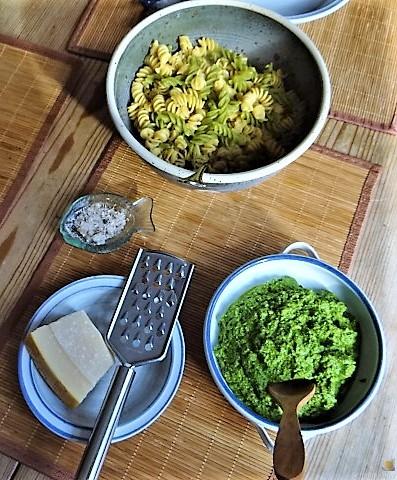 Fussili mit Ruccola Pest und Ofentomaten (4)