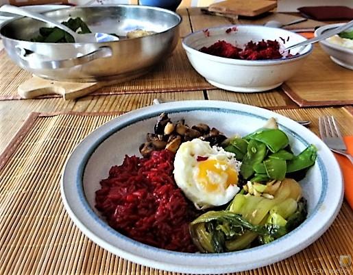 Roter Reis und Gemüse (20)