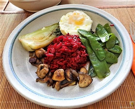 Roter Reis und Gemüse (22)