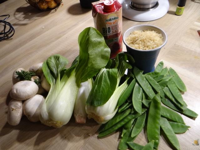 Roter Reis und Gemüse (8)