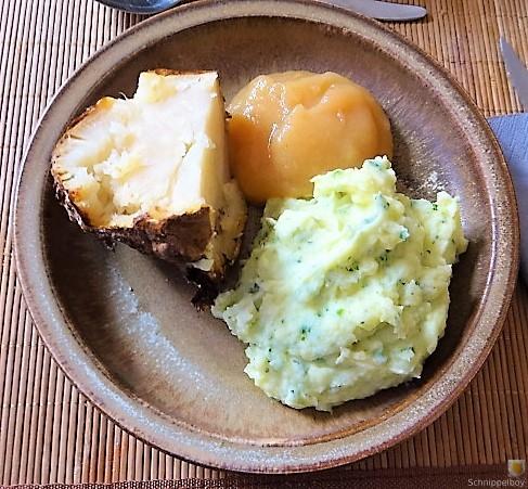 Sellerie,Kartoffelstampf und Apelmus (2)