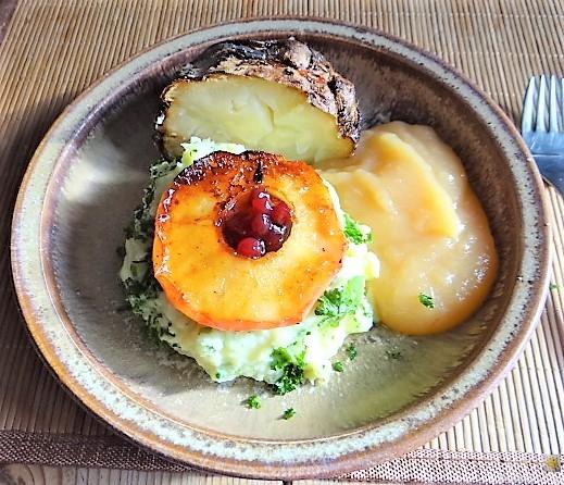 Sellerie,Kartoffelstampf und Apelmus (27)