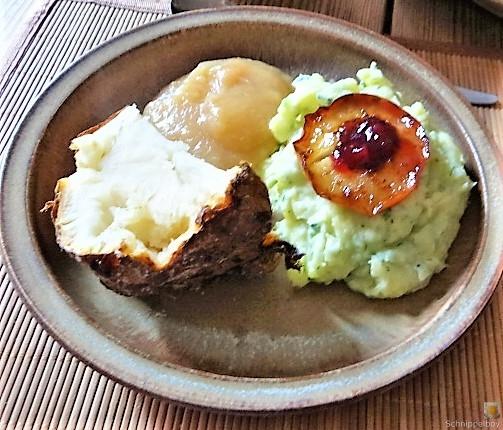 Sellerie,Kartoffelstampf und Apelmus (4)