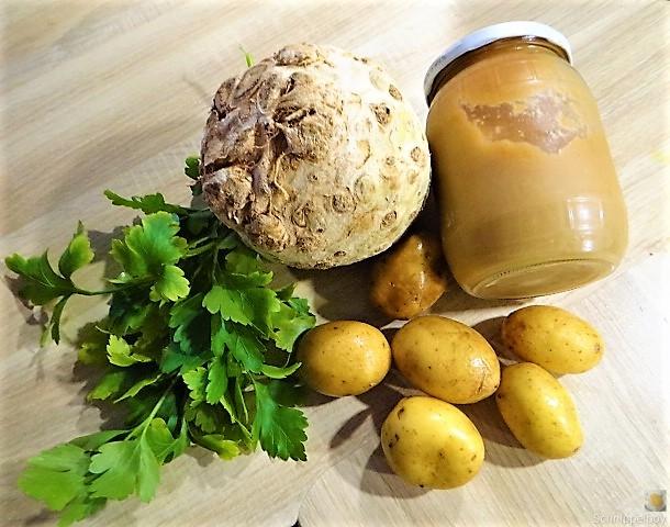 Sellerie,Kartoffelstampf und Apelmus (7)