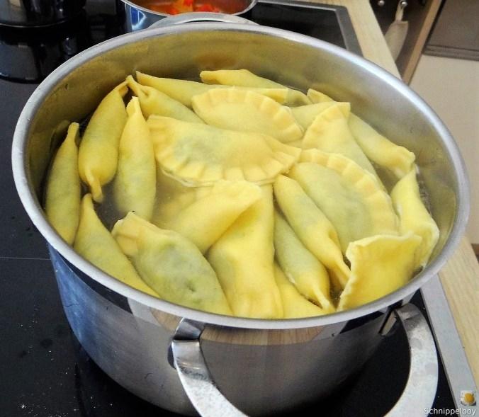Ravioli mit Feta Spinat Füllung (7)