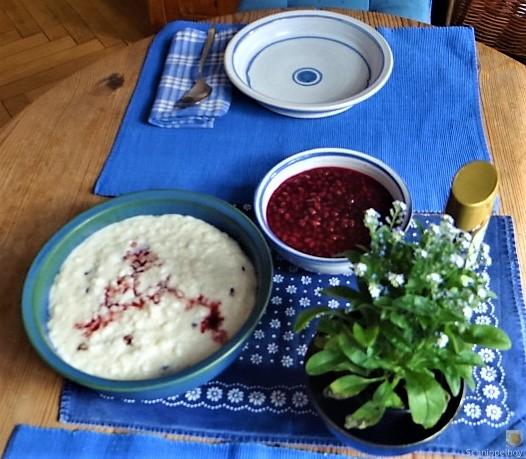 Reisbrei mit Granatapfel Kompott (4)