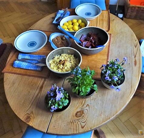 Waldorfsalat, Rote Bete Salat, Brathering (24)