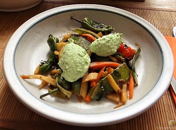 Wokgemüse und Erbs-Ricotta Creme (19)