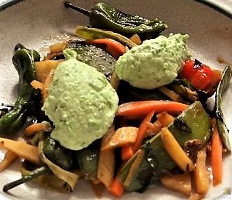 Wokgemüse und Erbs-Ricotta Creme (5)