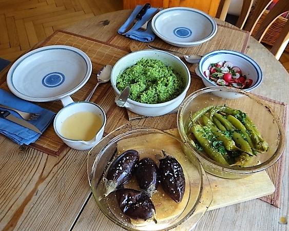 Gemüse mit Bärlauch Couscous (13)