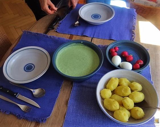 Grüne Sauce mit Wildkräutern (5)
