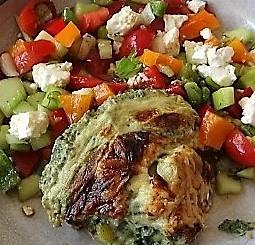 KartoffelBrennessel Gratin, Gemischter Salat (3)