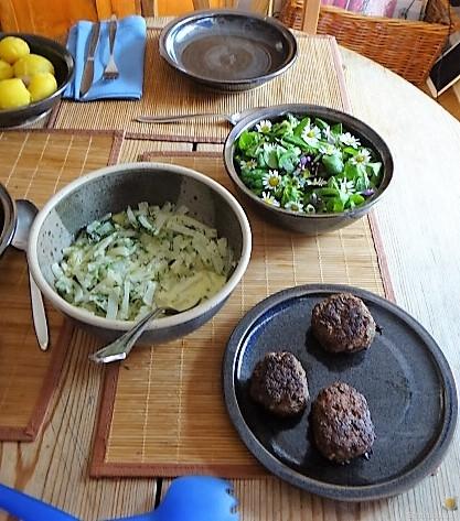 Kohlrabi mit Frikadelle (4)