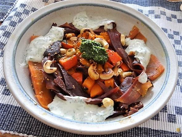 Möhren-Kürbis Gemüse (2)