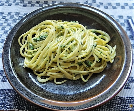 Spaghetti mit Gorgonzola-Brennesselsauce (19)