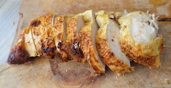 Wildkräuter Gnocchis, Poulardenbrust, Geschmorte Tomaten (21)