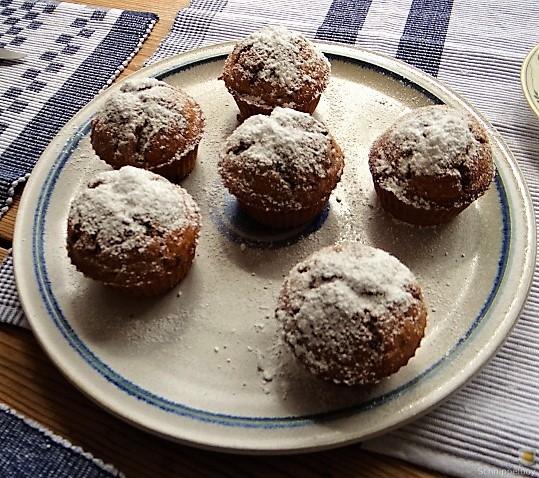 Apfel-Schoko-Marzipan Muffin (2)