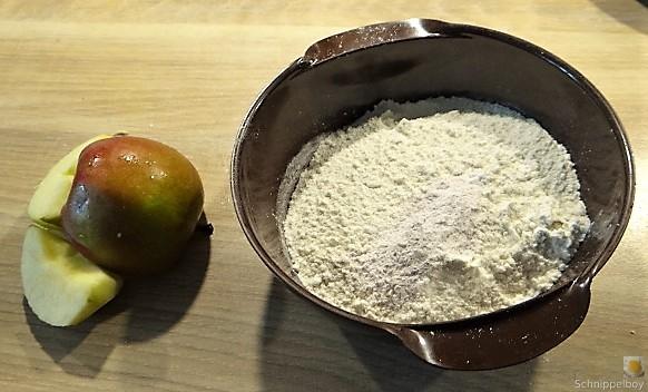 Apfel-Schoko-Marzipan Muffin (6)