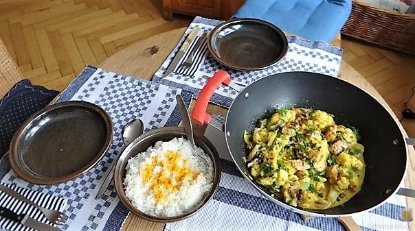 Blumenkohl Curry mit Meeresfrüchten (21)