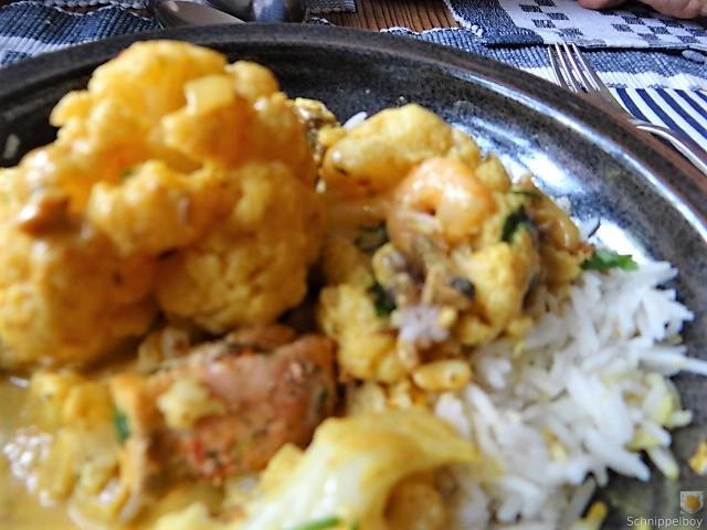 Blumenkohl Curry mit Meeresfrüchten (25)