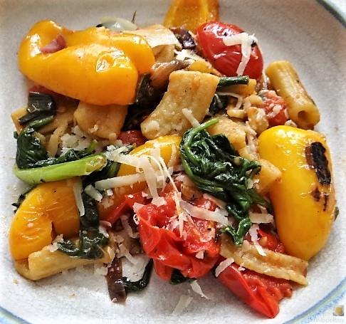 Gemüse-Nudel Pfanne (2)