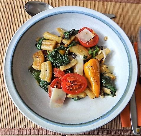 Gemüse-Nudel Pfanne (3)