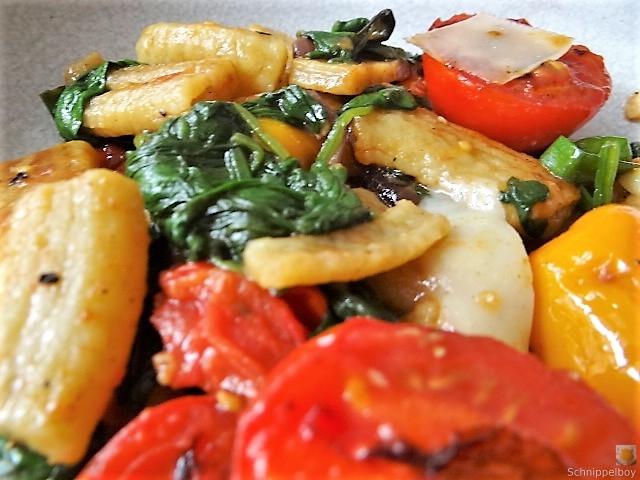 Gemüse-Nudel Pfanne (5)