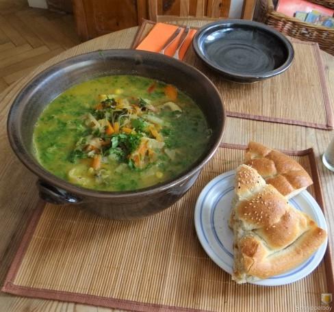 Gemüsesuppe mit Glasnudeln (6)
