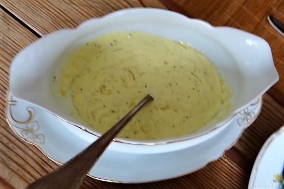 Grüne Klöße, Grüner Spargel, Zitronensauce (19)