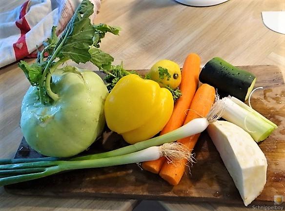 Hähnchenbrust im Gemüsebett (12)