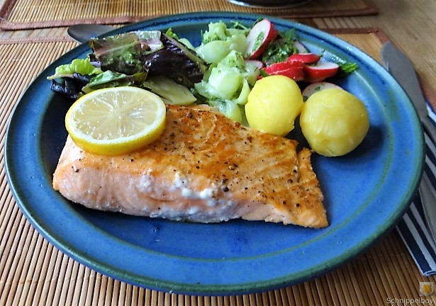 Lachs und Salate (23)