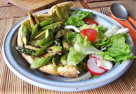 Omlette,Spargel, Salat (18)