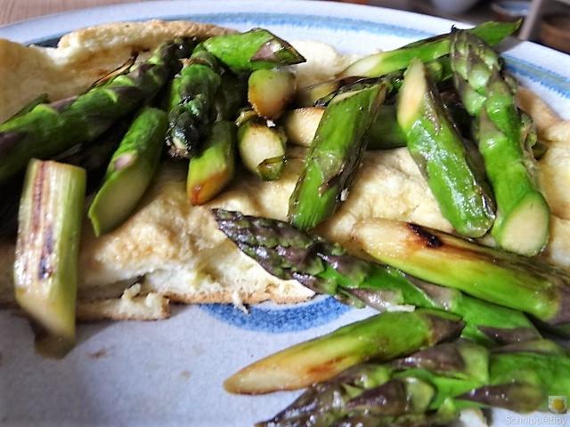 Omlette,Spargel, Salat (5)