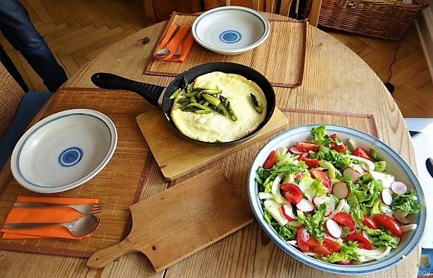 Omlette,Spargel, Salat (7)