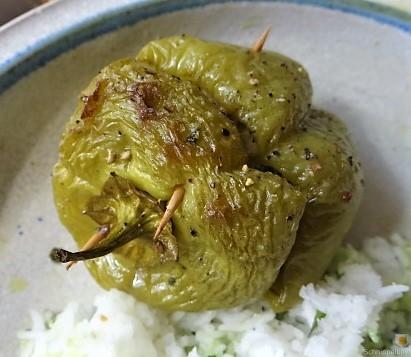Paprika,grün,gefüllt (17)