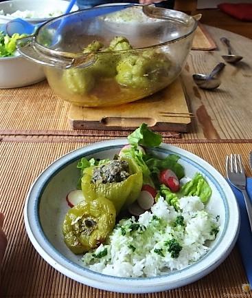 Paprika,grün,gefüllt (6)