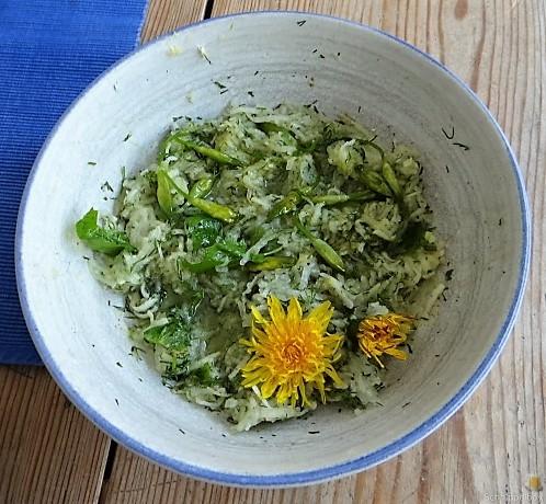 Polenta, Salate und Spiegelei (20)