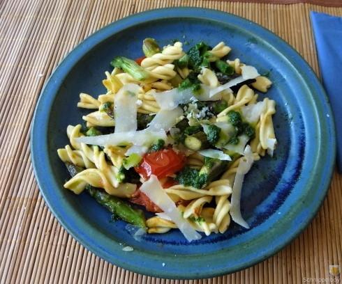 Spirelli,Spargel und Tomaten (29)